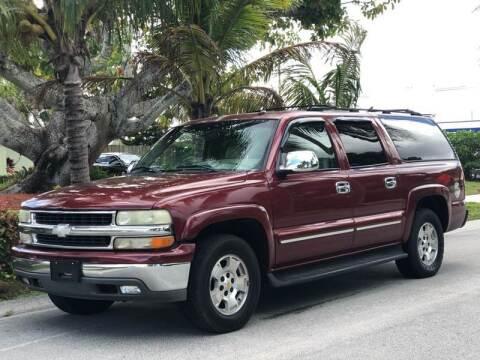 2003 Chevrolet Suburban for sale at L G AUTO SALES in Boynton Beach FL