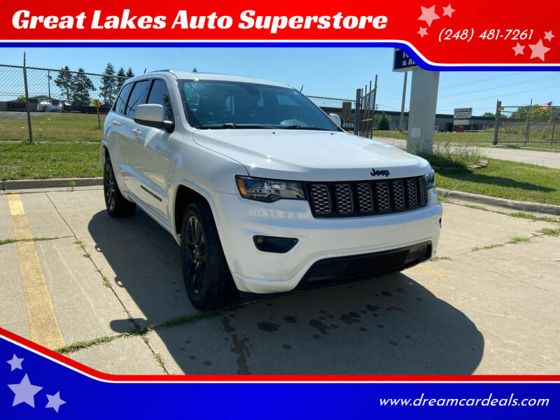 2017 Jeep Grand Cherokee for sale at Great Lakes Auto Superstore in Pontiac MI