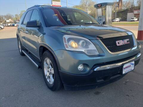 2009 GMC Acadia for sale at Gordon Auto Sales LLC in Sioux City IA