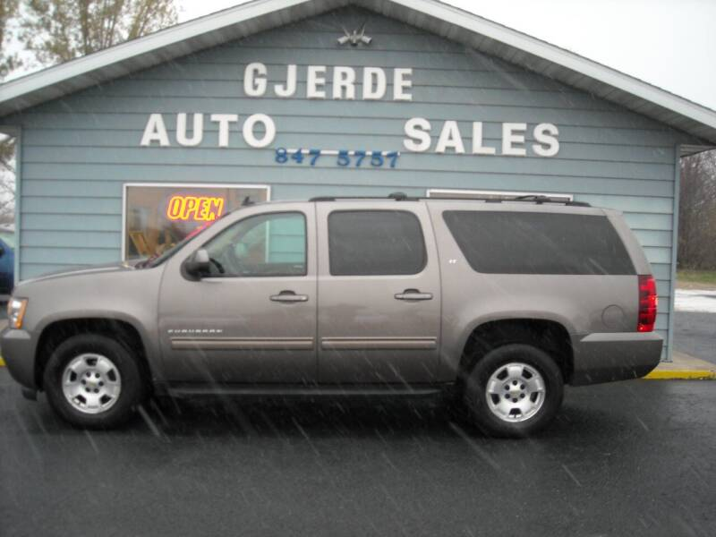 2013 Chevrolet Suburban for sale at GJERDE AUTO SALES in Detroit Lakes MN