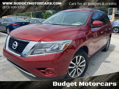 2014 Nissan Pathfinder for sale at Budget Motorcars in Tampa FL