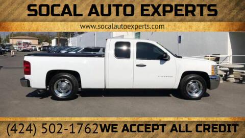 2013 Chevrolet Silverado 1500 for sale at SoCal Auto Experts in Culver City CA