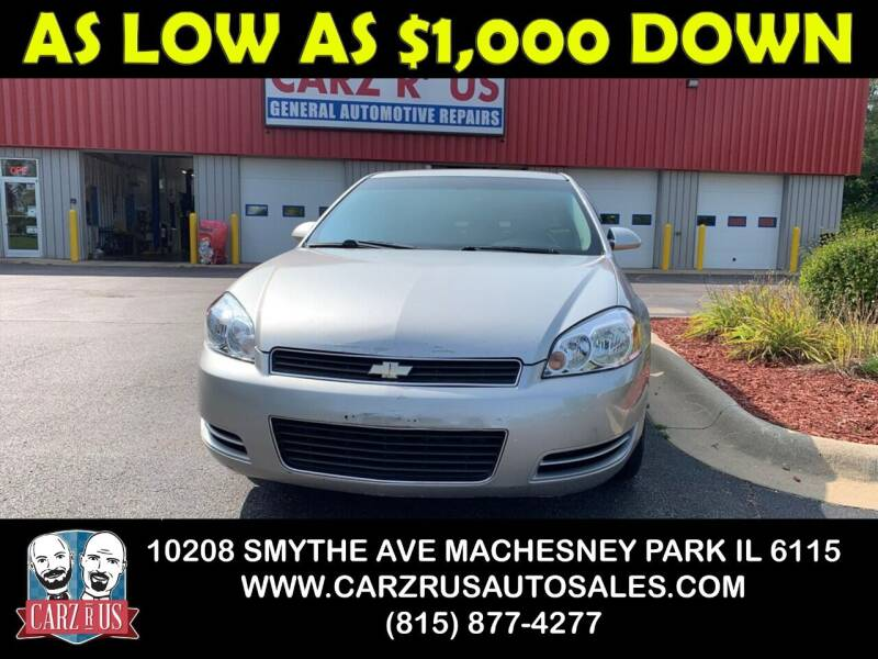 2008 Chevrolet Impala for sale at Carz R Us in Machesney Park IL