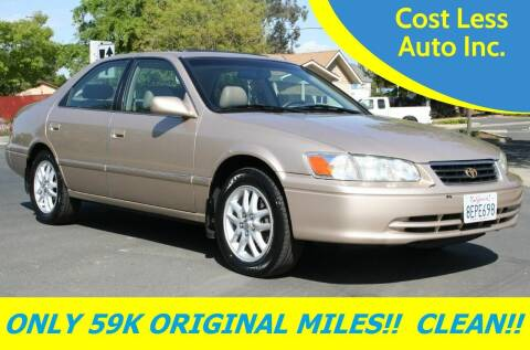 2001 Toyota Camry for sale at Cost Less Auto Inc. in Rocklin CA