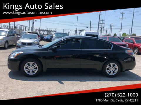 2011 Nissan Altima for sale at Kings Auto Sales in Cadiz KY