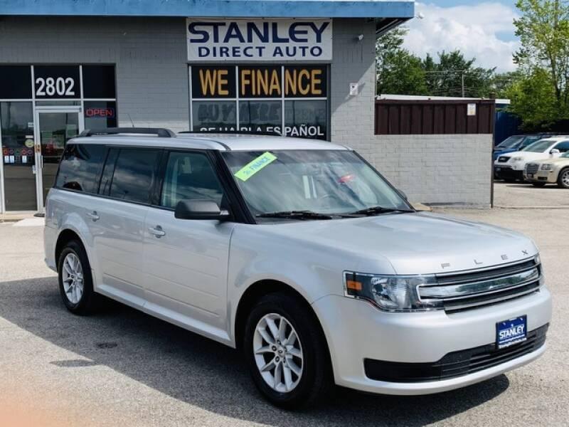 2014 Ford Flex for sale at Stanley Automotive Finance Enterprise - STANLEY DIRECT AUTO in Mesquite TX