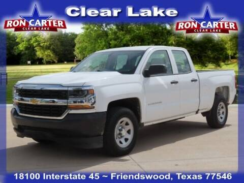 2016 Chevrolet Silverado 1500 for sale at Ron Carter  Clear Lake Used Cars in Houston TX