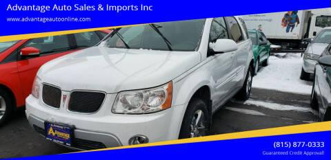 2007 Pontiac Torrent for sale at Advantage Auto Sales & Imports Inc in Loves Park IL