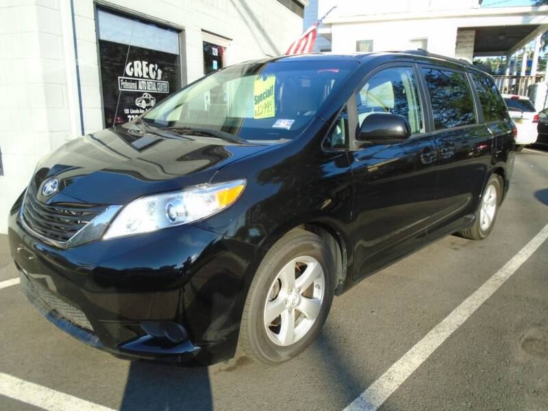 2012 Toyota Sienna for sale at Greg's Auto Sales in Dunellen NJ