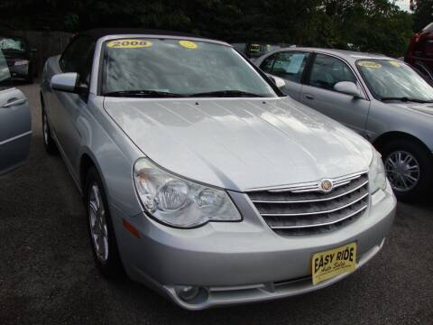 2008 Chrysler Sebring for sale at Easy Ride Auto Sales Inc in Chester VA