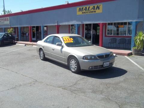 2004 Lincoln LS for sale at Atayas Motors INC #1 in Sacramento CA