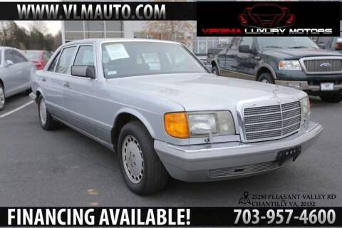 1991 Mercedes-Benz 560-Class for sale at Used Imports Auto - Virginia Luxury Motors in Chantilly GA