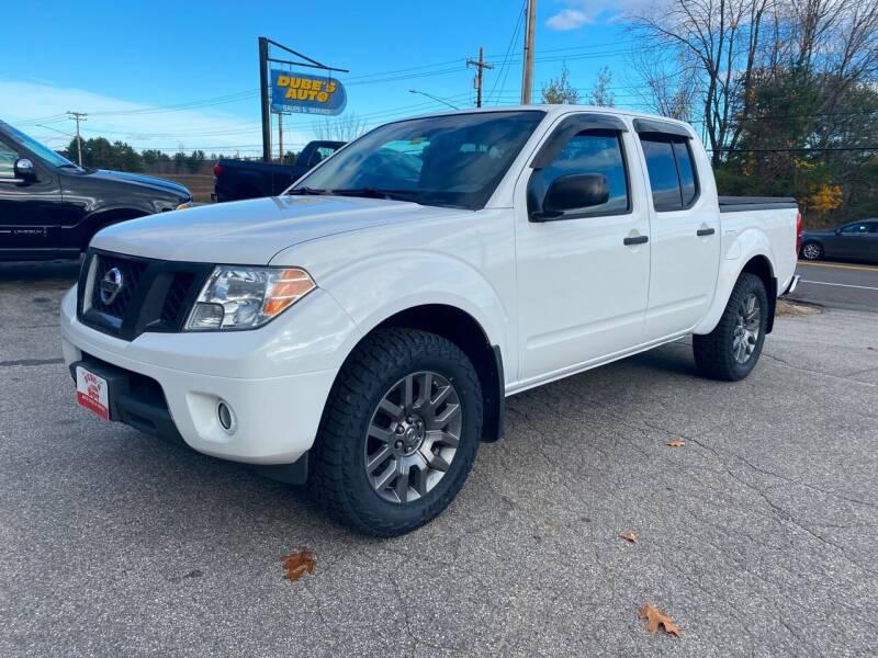 2012 Nissan Frontier for sale at Dubes Auto Sales in Lewiston ME