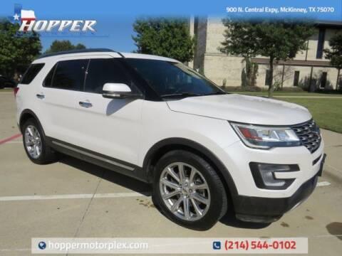 2017 Ford Explorer for sale at HOPPER MOTORPLEX in Mckinney TX