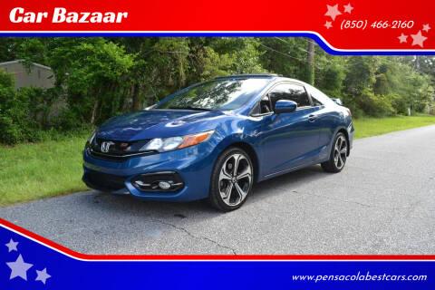 2015 Honda Civic for sale at Car Bazaar in Pensacola FL