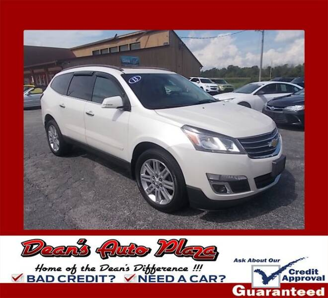 2013 Chevrolet Traverse for sale at Dean's Auto Plaza in Hanover PA