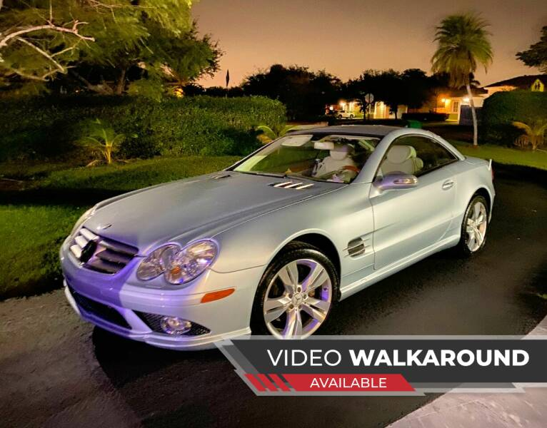 2007 Mercedes-Benz SL-Class for sale at My Car Inc in Pls. Call 305-220-0000 FL