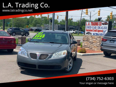 2007 Pontiac G6 for sale at L.A. Trading Co. Woodhaven in Woodhaven MI