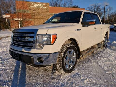 2014 Ford F-150 for sale at DILLON LAKE MOTORS LLC in Zanesville OH