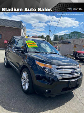 2014 Ford Explorer for sale at Stadium Auto Sales in Everett MA