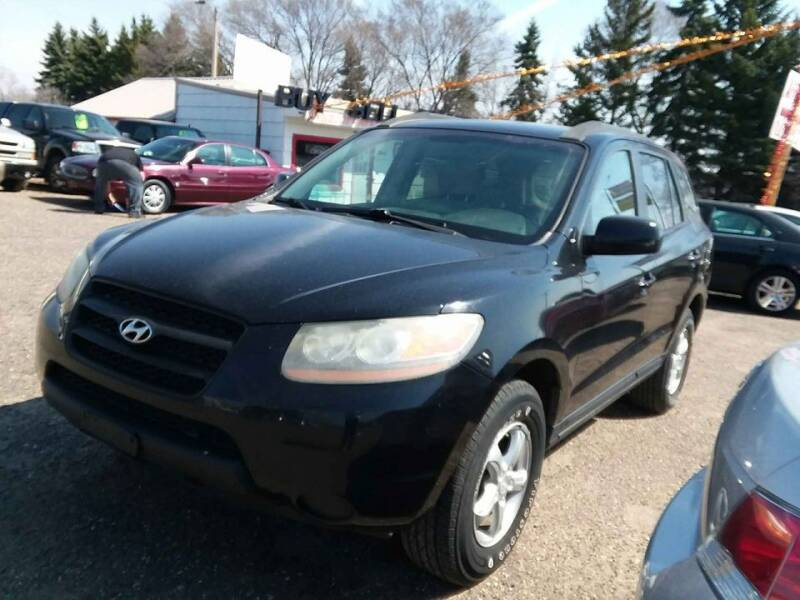 2008 Hyundai Santa Fe for sale at Affordable 4 All Auto Sales in Elk River MN
