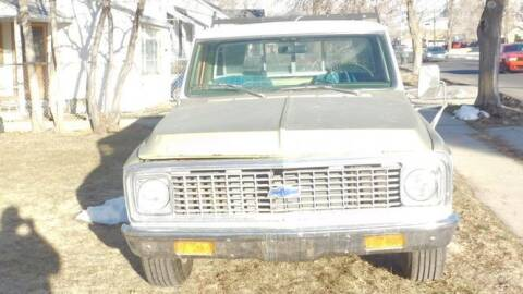 1972 Chevrolet C/K 20 Series for sale at Classic Car Deals in Cadillac MI