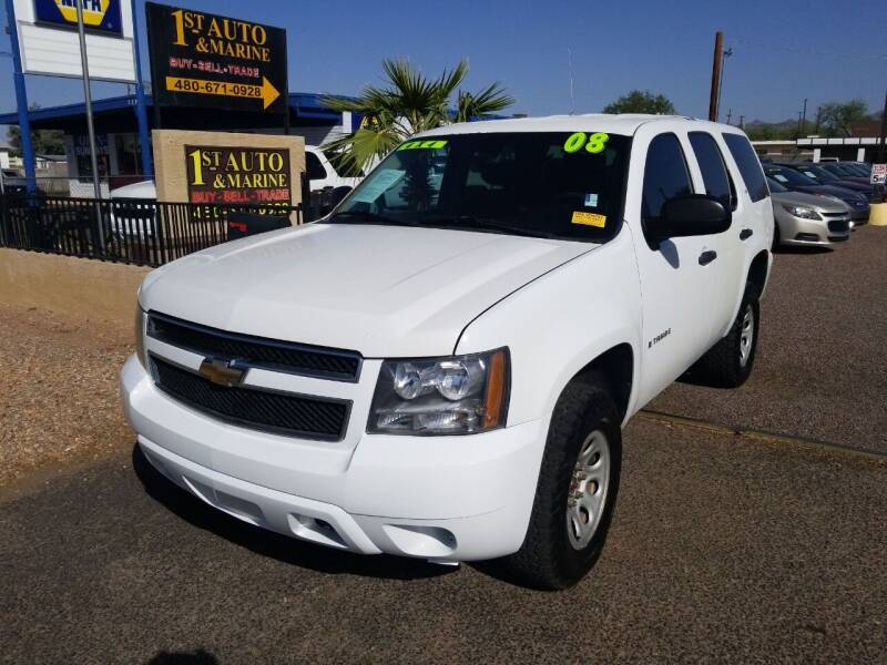 2008 Chevrolet Tahoe for sale at 1ST AUTO & MARINE in Apache Junction AZ