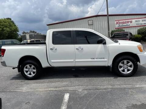 2009 Nissan Titan for sale at Keisers Automotive in Camp Hill PA