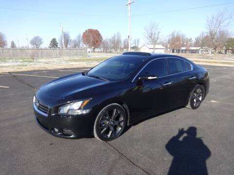 2014 Nissan Maxima for sale at Just Drive Auto in Springdale AR