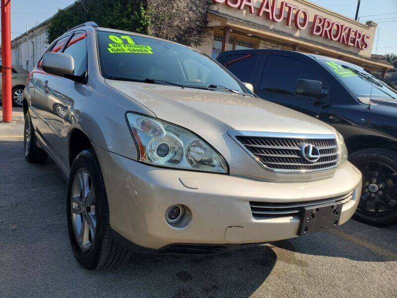 2007 Lexus RX 400h for sale at USA Auto Brokers in Houston TX