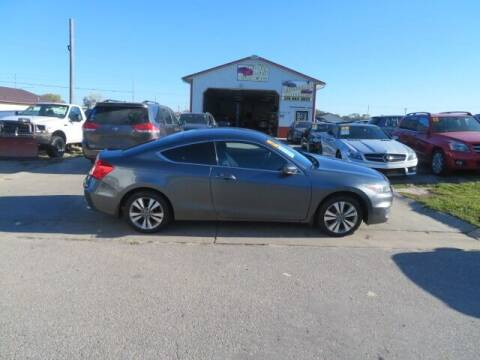 2012 Honda Accord for sale at Jefferson St Motors in Waterloo IA
