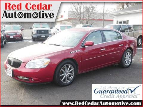 2007 Buick Lucerne for sale at Red Cedar Automotive in Menomonie WI