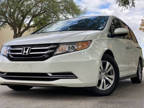 2014 Honda Odyssey for sale at HIGH PERFORMANCE MOTORS in Hollywood FL