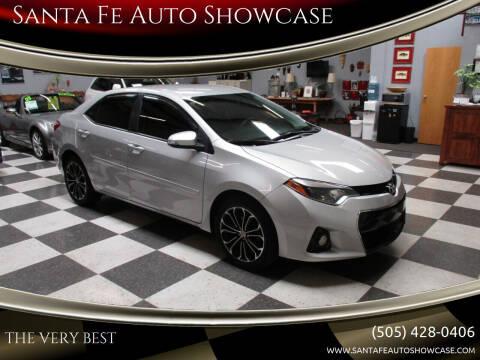 2016 Toyota Corolla for sale at Santa Fe Auto Showcase in Santa Fe NM
