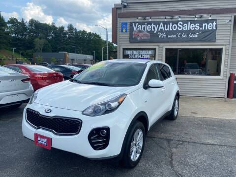 2018 Kia Sportage for sale at Variety Auto Sales in Worcester MA