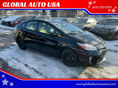 2015 Toyota Prius for sale at GLOBAL AUTO USA in Saint Paul MN