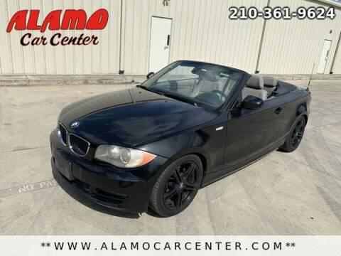 2010 BMW 1 Series for sale at Alamo Car Center in San Antonio TX
