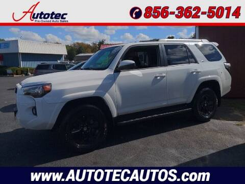2020 Toyota 4Runner for sale at Autotec Auto Sales in Vineland NJ