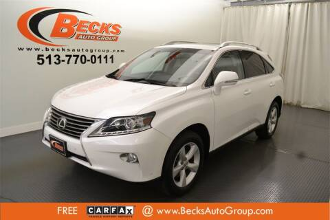 2014 Lexus RX 350 for sale at Becks Auto Group in Mason OH