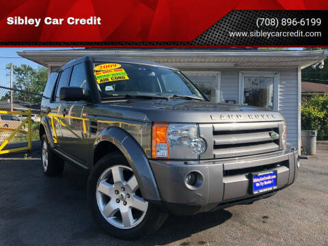 2009 Land Rover LR3 for sale at Sibley Car Credit in Dolton IL