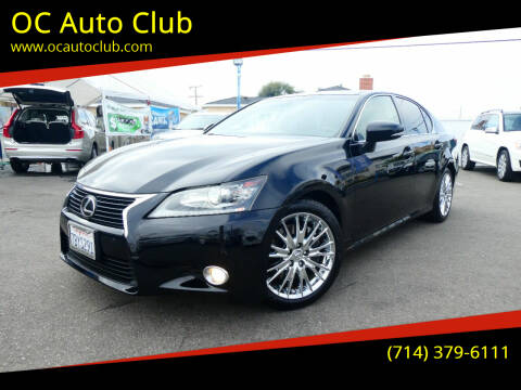 2013 Lexus GS 350 for sale at OC Auto Club in Midway City CA