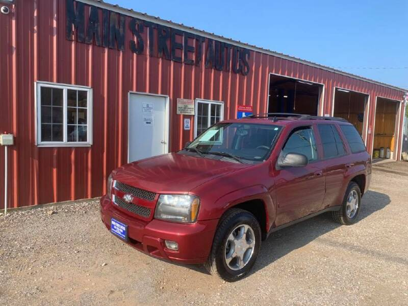 2008 Chevrolet TrailBlazer for sale at Main Street Autos Sales and Service LLC in Whitehouse TX