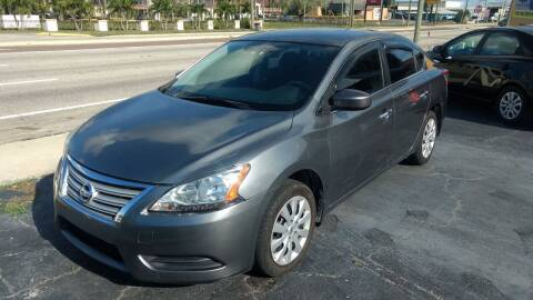 2015 Nissan Sentra for sale at AFFORDABLE AUTO SALES in We Finance Everyone! FL