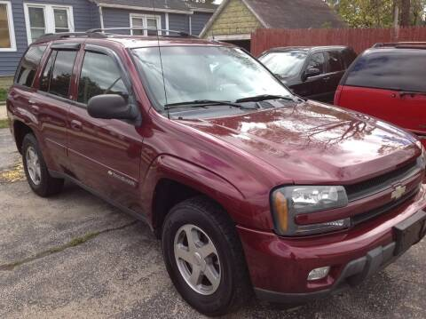 2004 Chevrolet TrailBlazer for sale at Sindic Motors in Waukesha WI