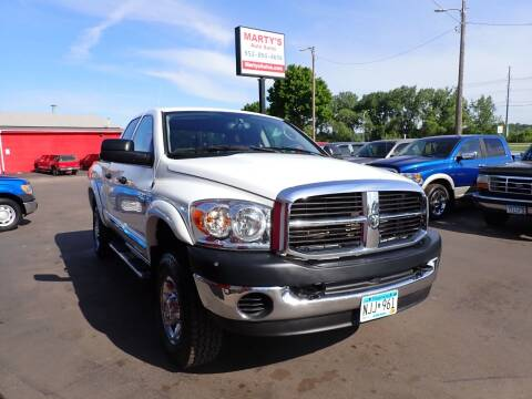 2008 Dodge Ram Pickup 2500 for sale at Marty's Auto Sales in Savage MN