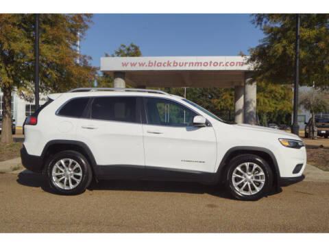 2019 Jeep Cherokee for sale at BLACKBURN MOTOR CO in Vicksburg MS