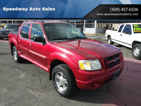 2004 Ford Explorer Sport Trac for sale at Speedway Auto Sales in Yakima WA