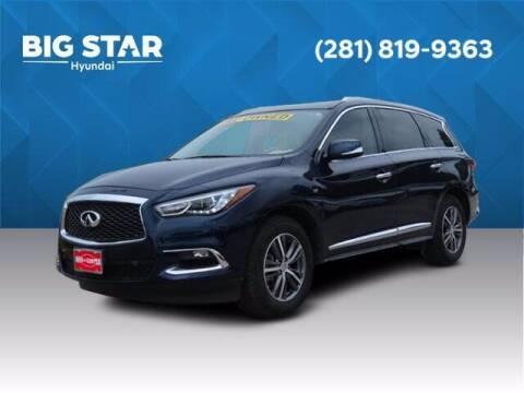 2018 Infiniti QX60 for sale at BIG STAR HYUNDAI in Houston TX