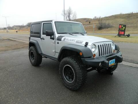 2012 Jeep Wrangler for sale at Dick Nelson Sales & Leasing in Valley City ND