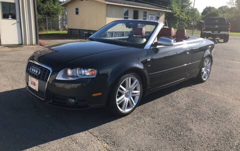 2007 Audi S4 for sale at Elders Auto Sales in Pine Bluff AR